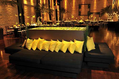 decora o de casamento amarelo branco rosa azul preto. Black Bedroom Furniture Sets. Home Design Ideas