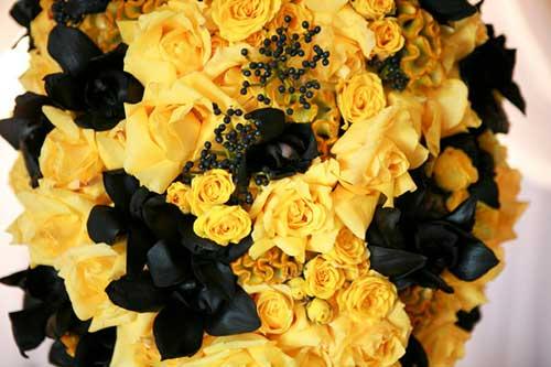 Armario Tela Aki ~ Decoraç u00e3o de Casamento Amarelo Branco, Rosa, Azul, Preto