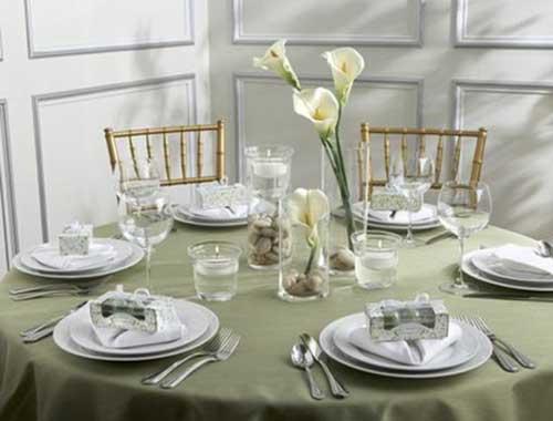 30 Sugestões de Enfeites de Mesa de Casamento Bonitos -> Enfeites De Mesa De Casamento Simples E Barato