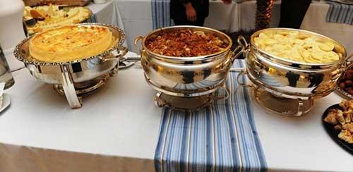 sugestões de buffet de casamento