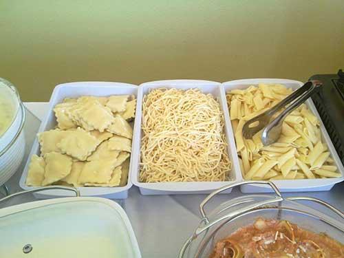 ideias de buffet de casamento