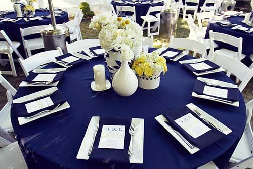 decoracao de casamento azul marinho e amarelo : decoracao de casamento azul marinho e amarelo:azul marinho 1