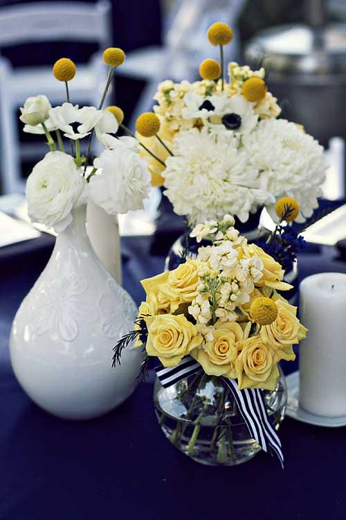 decoracao de casamento azul marinho e amarelo : decoracao de casamento azul marinho e amarelo:azul marinho