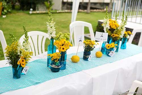 decoracao casamento azul turquesa e amarelo : decoracao casamento azul turquesa e amarelo:azul turquesa 1