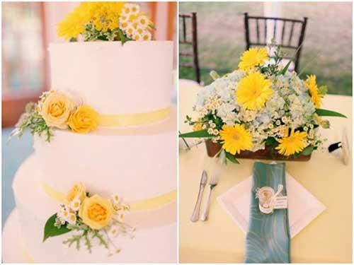 decoracao de igreja azul e amarelo : decoracao de igreja azul e amarelo:Amarelo e Branco