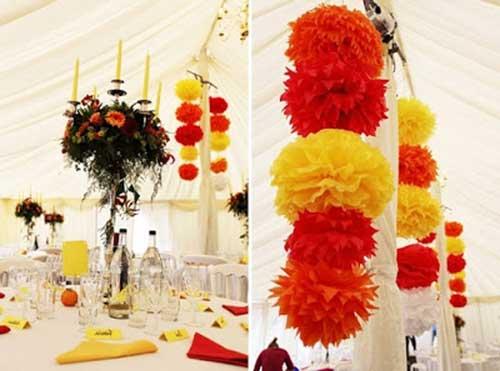 decoracao azul e amarelo para aniversario:Amarelo e Vermelho