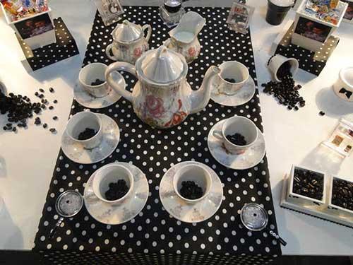 15 IDEIAS Decoraç u00e3o para Chá de Panela + Planejamento -> Decoração Xadrez Preto E Branco