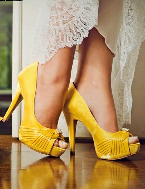 43dc6272f52 50 Sapatos para Casamento  Noiva