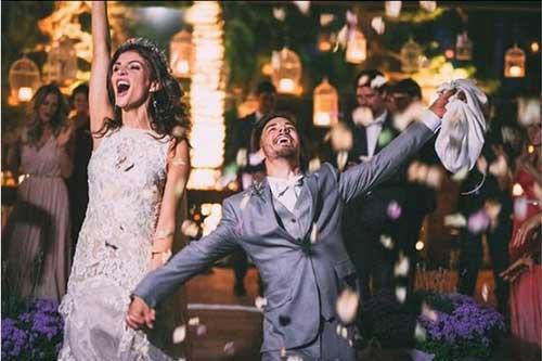 30 fotos incr veis do casamento do junior lima m nica