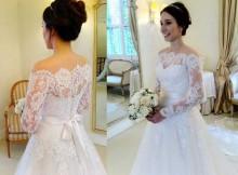 Vestidos de Noiva Manga Longa