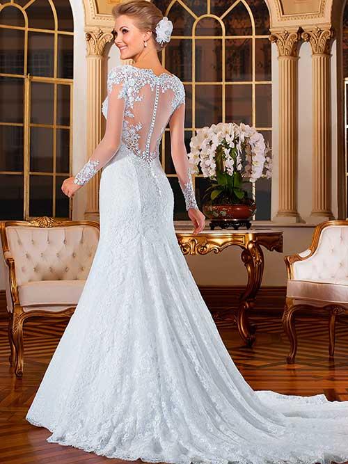 40 Modelos De Vestidos De Noiva Tipo Sereia Lindos