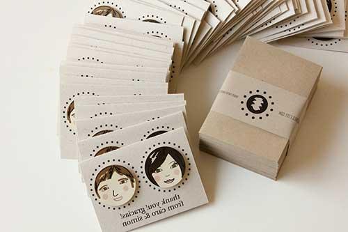 Cartões De Casamento: 30 SUGESTÕES De Cartão De Agradecimento Para Casamento