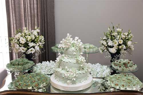 como decorar mesas de bolo