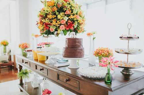 dicas de decoração com flor
