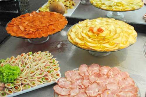 sugestões de pratos