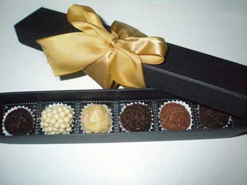 doces para os convidados