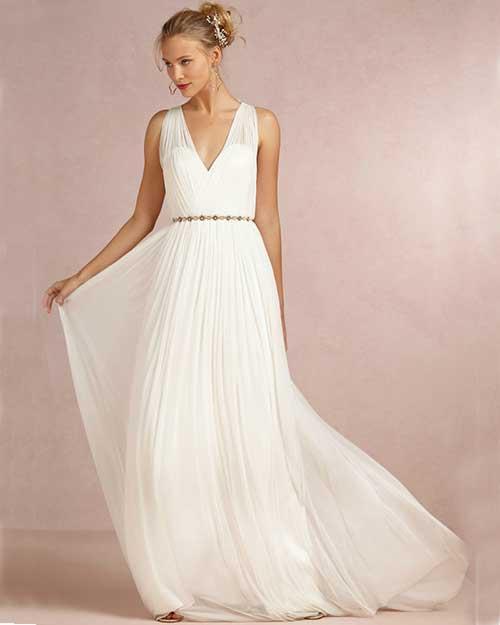 Vestidos de noiva simples mas bonitos