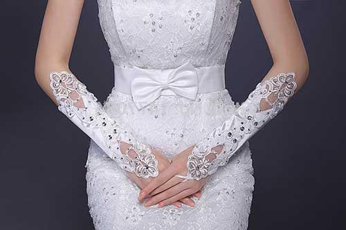 luva para casamento