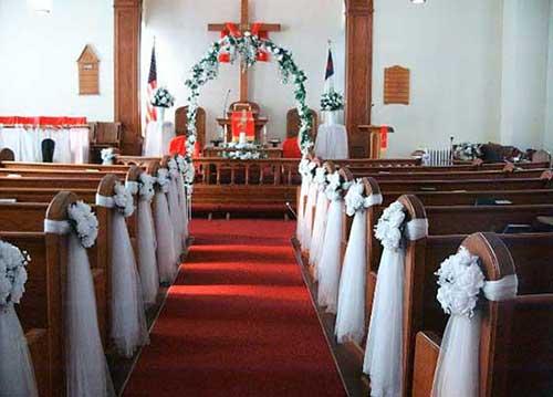 Enfeite De Igreja ~ 30 DICAS de Decoraç u00e3o de Casamento na Igreja + Fotos