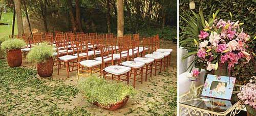 cadeiras para convidados