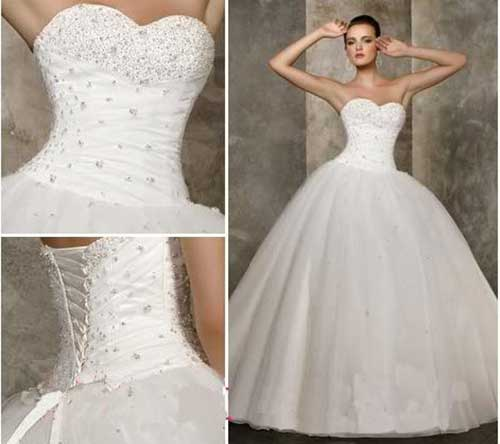 vestido rodado de noiva