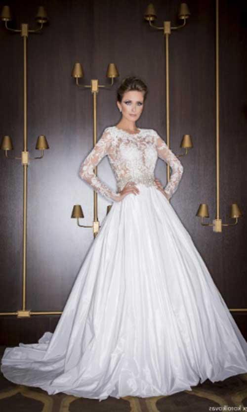 vestido rodado para noiva