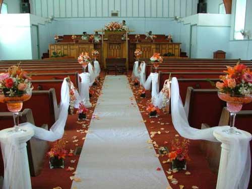 30 DICAS de Decoração de Casamento na Igreja + Fotos