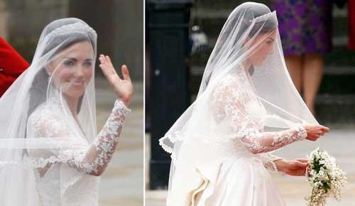 véu de casamento da princesa francesa