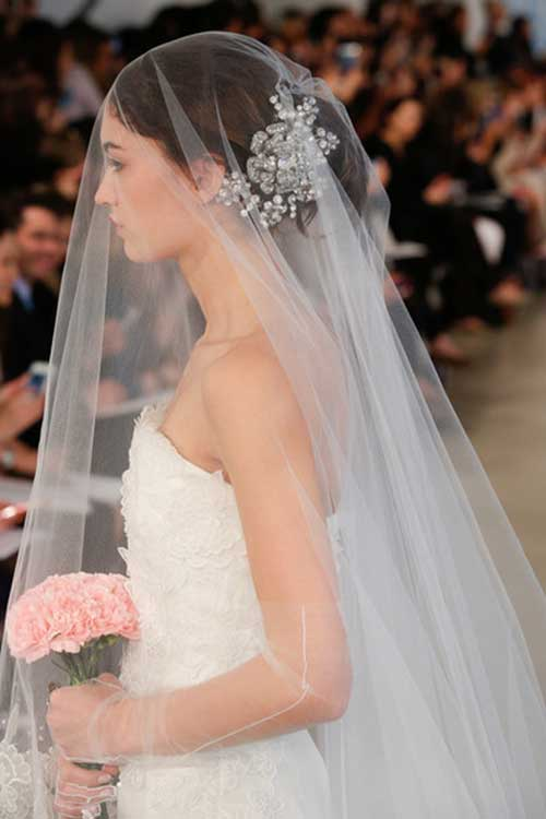 modelos de véu de noiva