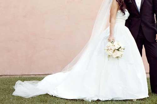 como usar véu de noiva