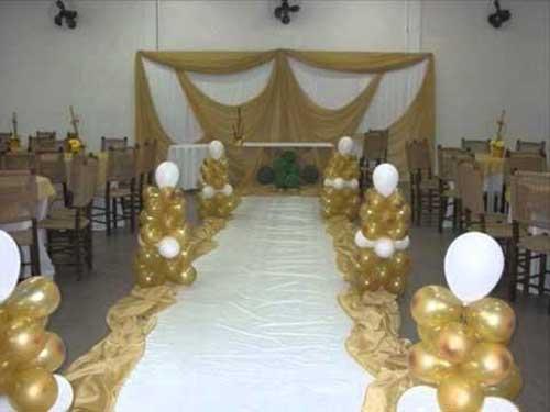 decoração de bodas