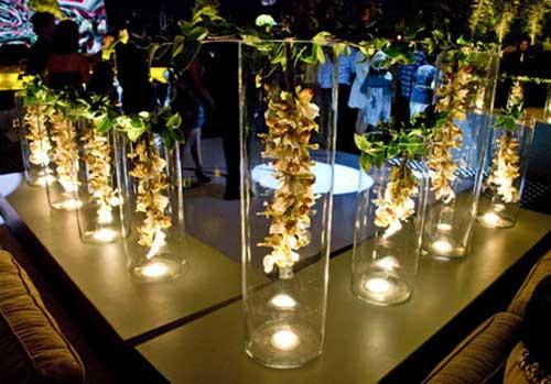 bodas de ouro decorada
