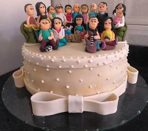 foto de bolo decorado