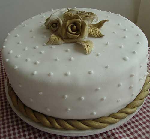 imagem de bolo decorado