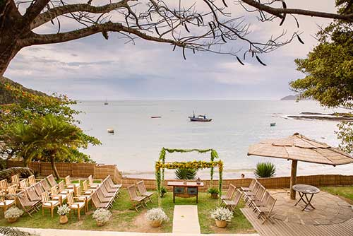 sugestões de casamento na praia