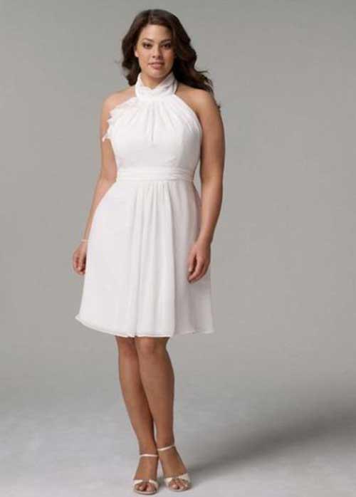 a19d57803f 45 Modelos de Vestido de Noiva Curto PERFEITOS!