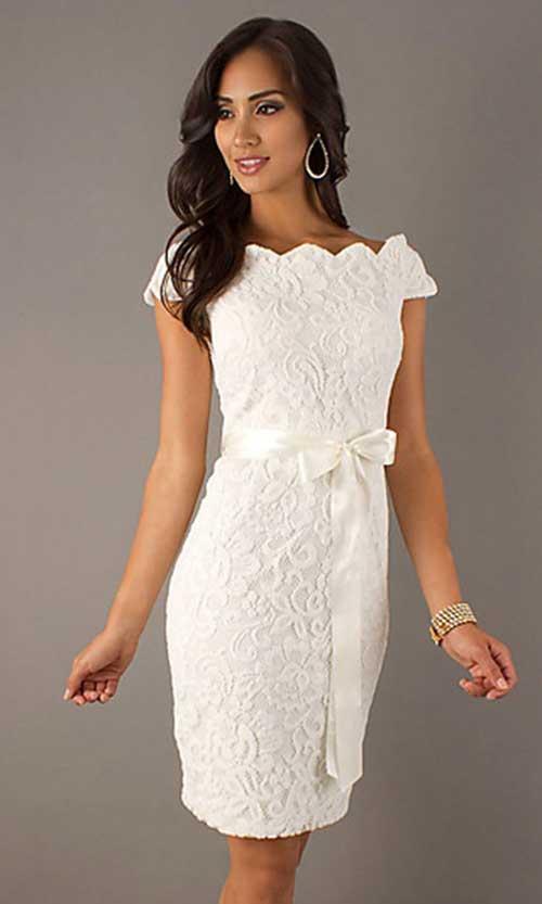 45 Modelos De Vestido De Noiva Curto Perfeitos