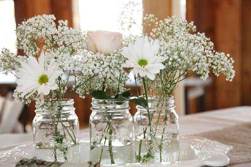 Preparativos para Casamento Simples, Barato, Evangélico -> Enfeites De Mesa De Casamento Simples E Barato