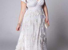 vestido da moda plus size
