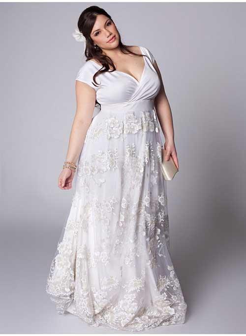 087367cf105 33 Modelos de Vestidos Plus Size para Madrinhas Gordinhas!