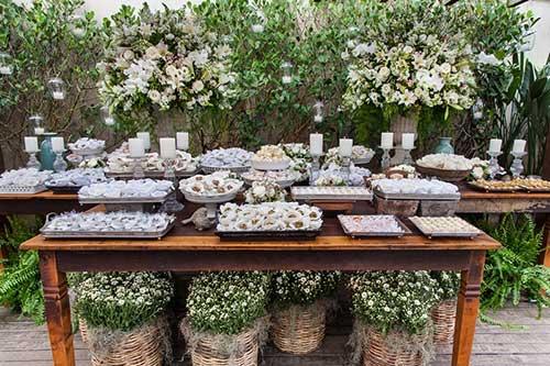 com plantas e flores
