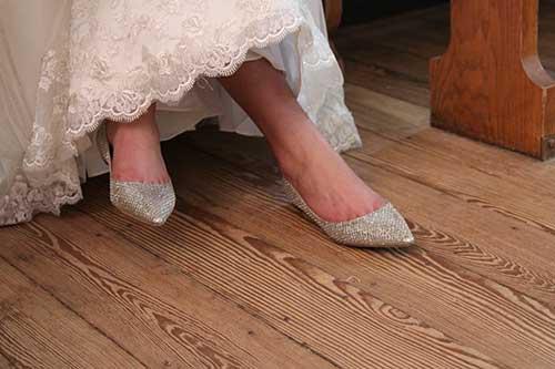fotos de sapatilhas para noivas