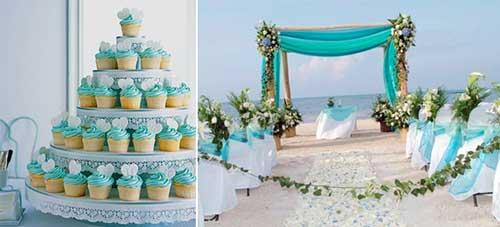 festa de casamento decorada