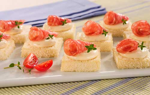 15 sugest es de salgados finos para casamento receita for Canapes simples e barato