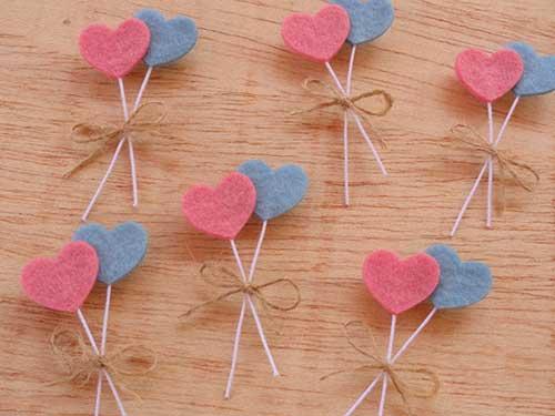 lembrancinhas para noivado azul e rosa
