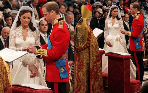 Casamento da Kate Middleton e Príncipe William