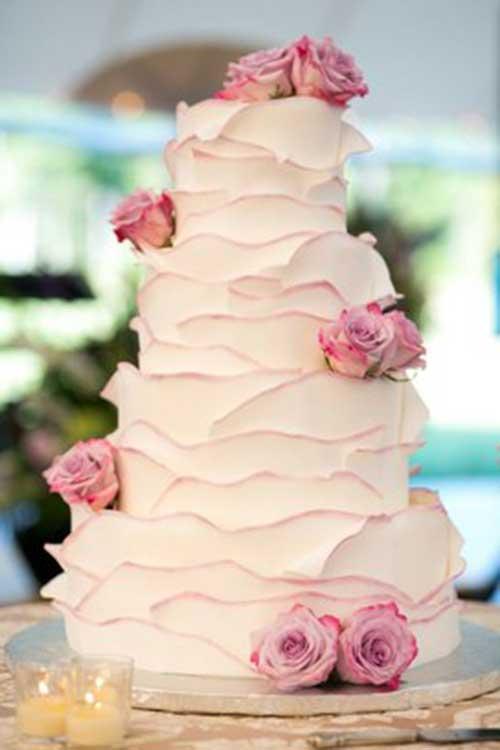 Decoração de bolos recheados
