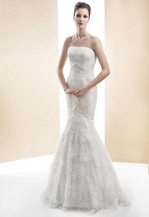 vestidos estilo sereia para casar