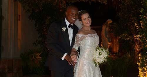 Casamento do Thiaguinho com a Fernanda Souza