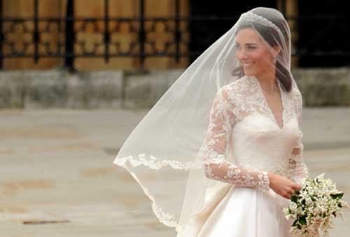 Vestido de Noiva da Princesa Kate